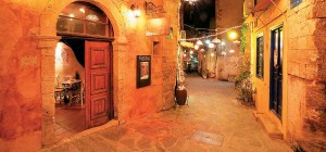 The small streets of Chania.